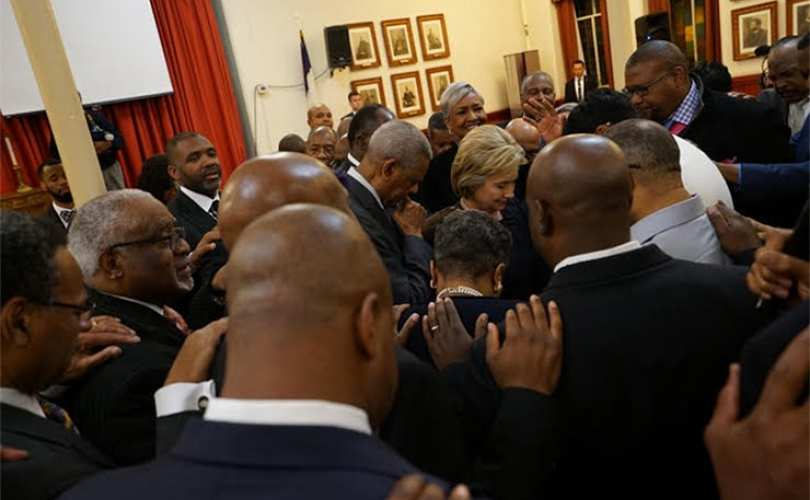 Black Clergy, Hillary Clinton, and Outsourcing Black Responsibility