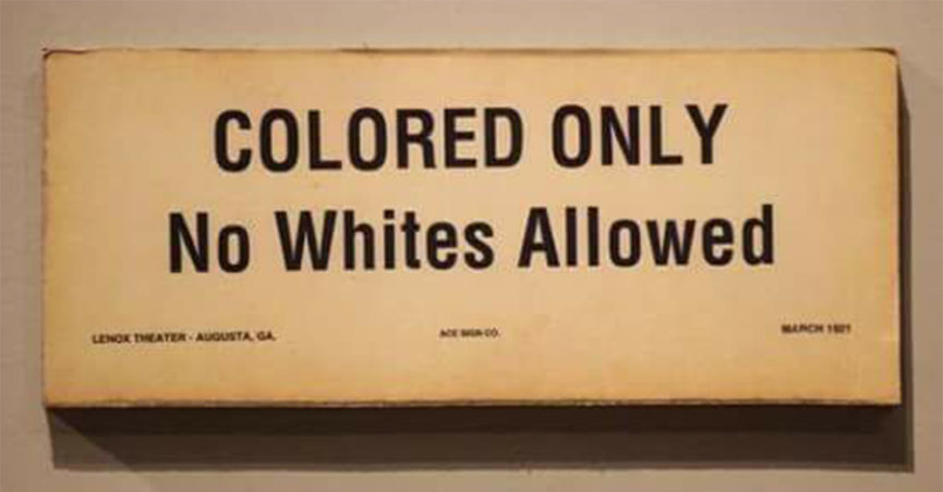 "The Return of Racially Segregated ""Safe Spaces"""